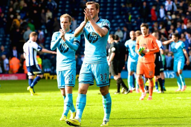 West Brom vs. Tottenham Hotspur: Score, Grades and Post-Match Reaction