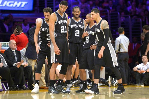 San Antonio Spurs Clinch Home-Court Advantage Through 2014 NBA Playoffs