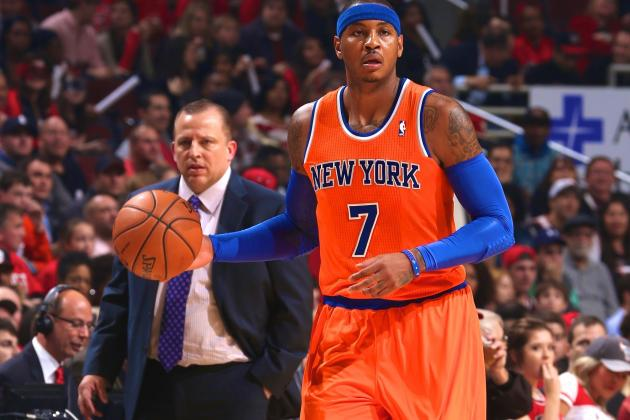 Carmelo Anthony Praises Tom Thibodeau, Says System Works with 'Anybody'