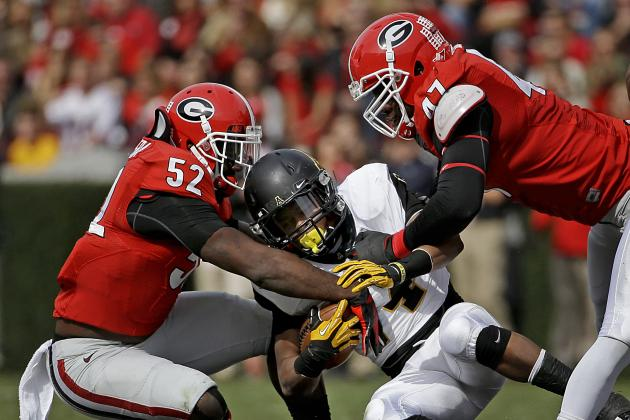 Georgia's Defense Making Improvements but Still Has a Long Road Ahead