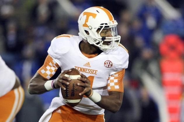 Orange and White Game 2014: Live Game Grades, Analysis for Tennessee Football