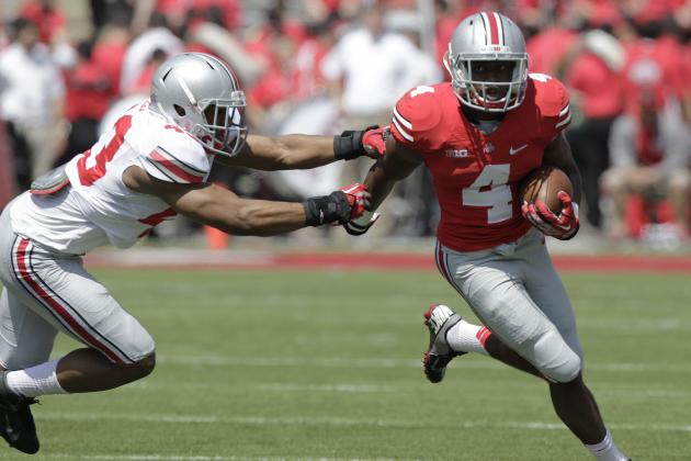 Ohio State Spring Game 2014: Recap, Highlights and Analysis