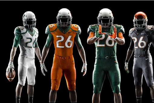 Miami Hurricanes Unveil New 2014 Nike Football Uniform Design