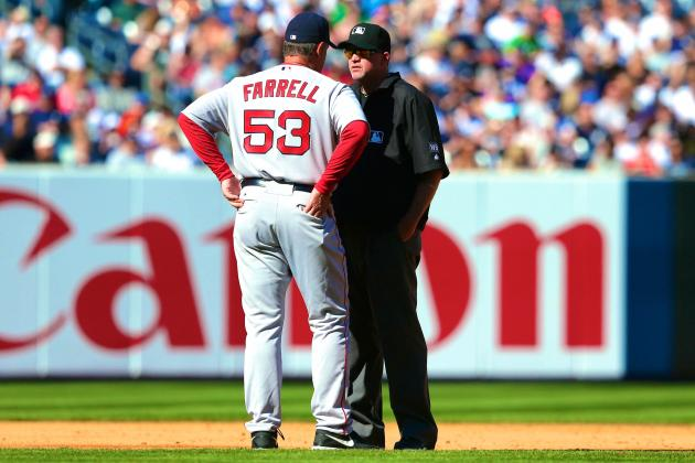 MLB Admits Botching Replay in Red Sox vs. Yankees Game