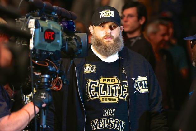 Roy Nelson Still Draws Line in Sand for UFC Heavyweight Division