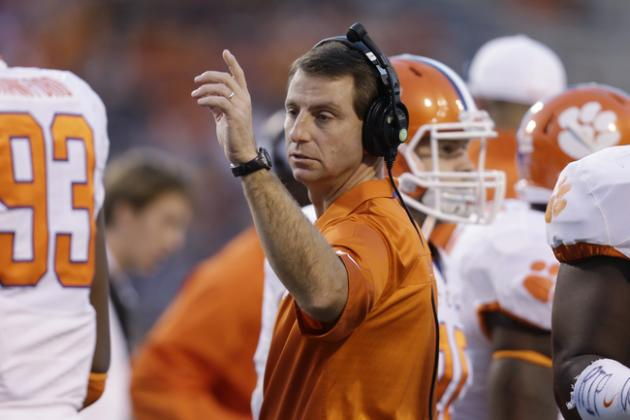 Clemson Spring Game 2014: Live Game Grades, Analysis for the Tigers