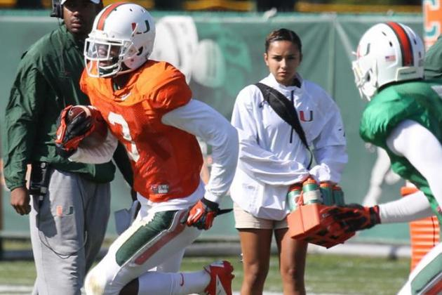 Miami Spring Game 2014: Live Grades, Analysis for the Hurricanes