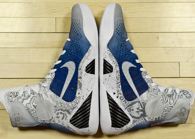 Nike Celebrates UConn Championships with Husky-Themed Kobe 9 Elites