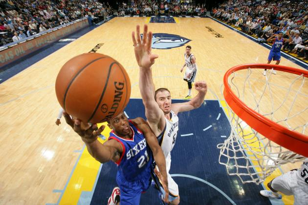 Thaddeus Young Wonders 'All the Time' If He's Finished with Philadelphia 76ers