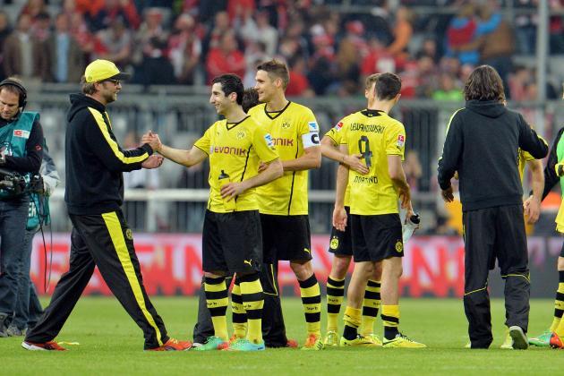 How Borussia Dortmund Will Line Up Against Wolfsburg