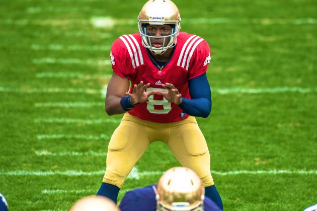 Notre Dame Football: Malik Zaire's Great Spring Game, Impact on Irish QB Race