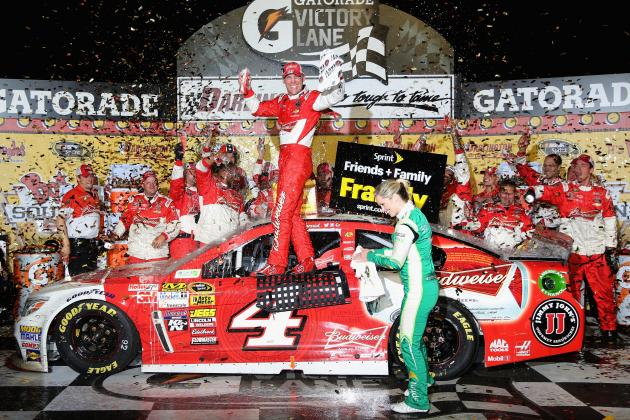From Slumping to Celebrating: Kevin Harvick Back on Track with Win at Darlington