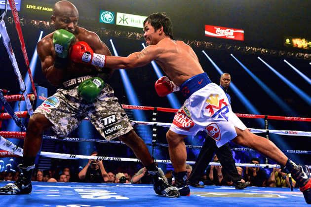 Pacquiao vs. Bradley 2: Live Round-by-Round Results and Highlights