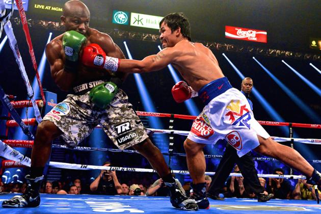Pacquiao vs. Bradley Results: Pac-Man Beats Desert Storm Via Unanimous Decision