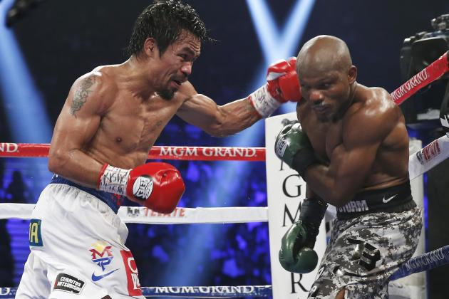 Pacquiao vs. Bradley 2 Replay: When to See Pac-Man vs. Desert Storm Fight Again