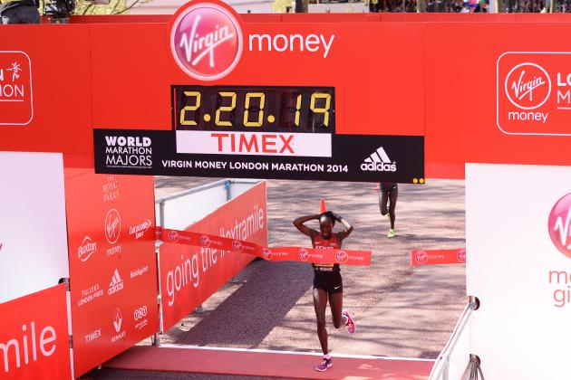 London Marathon 2014 Results: Men and Women's Top Finishers