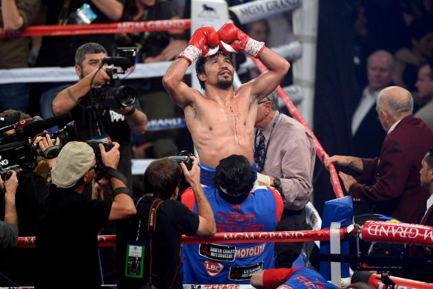 Pacquiao vs. Bradley 2 Purse: Prize Money, Judges' Scorecards from Pac-Man's Win