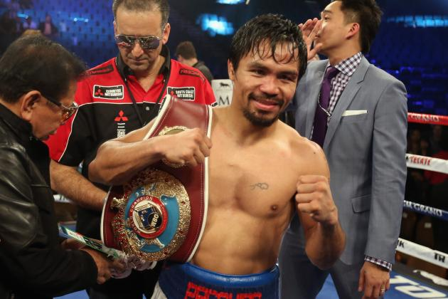 Manny Pacquiao Fight: Pac-Man Regains His Swagger with Convincing Win
