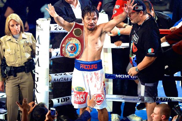 Manny Pacquiao Gets His Redemption with Emphatic Victory over Tim Bradley