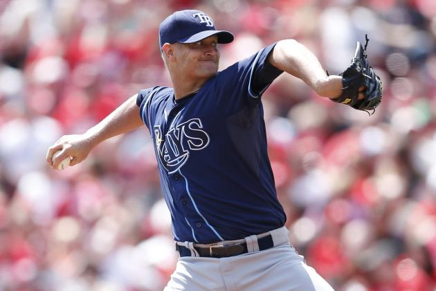 Rays Place Alex Cobb on DL with Oblique Strain