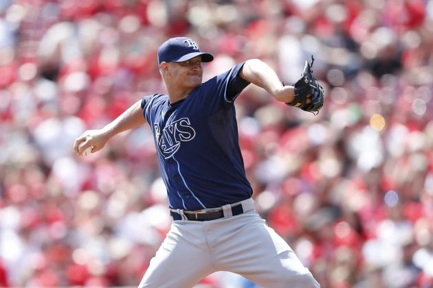 Rays Place Alex Cobb on 15-Day DL with Oblique Strain