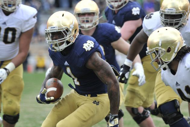 VIDEO: Notre Dame spring gamehighlights