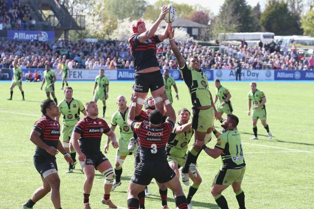 Sarries Hold on in Nail-Biter