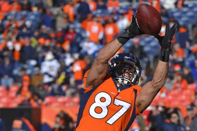 Fantasy Football 2014:  Projections for Eric Decker and 5 Other Wide Receivers