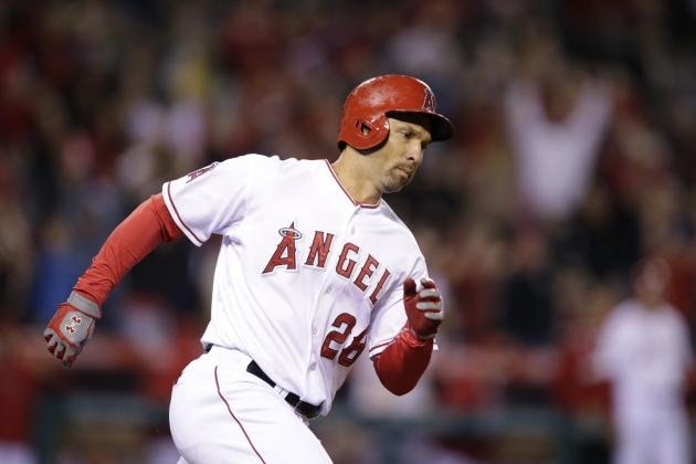 Angels' Raul Ibanez Records Career Hit No. 2,000 on Game-Tying Home Run