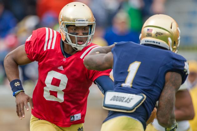 Notre Dame Spring Game Shows Irish Have Plethora of Weapons on 2014 Offense