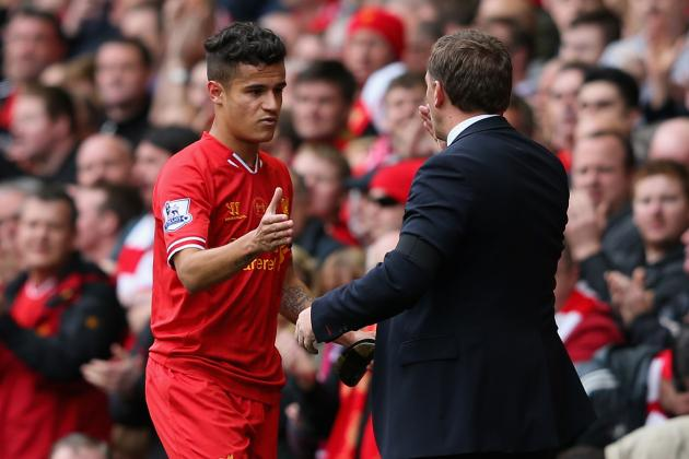 Rodgers' Bold, Brave, Near-Reckless Selection Pays Off vs. Man City...Just