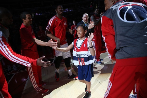 Washington Wizards Sign 10-Year-Old with Cancer to 1-Day Deal