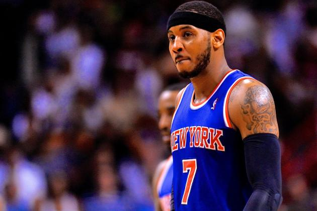 Carmelo Anthony's Free Agency Puts Major Pressure on New York Knicks' Offseason