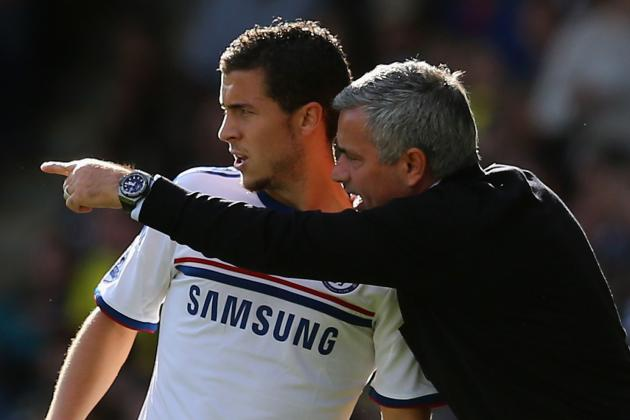 Chelsea Manager Jose Mourinho Talks Eden Hazard, Oscar and Frank Lampard