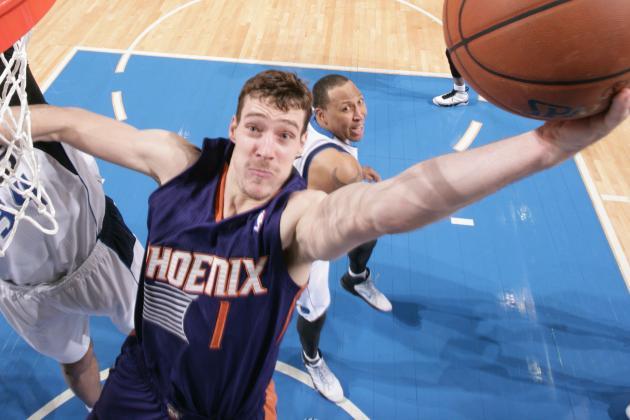 Goran Dragic Plays on Ankle at 35-40 Percent Strength