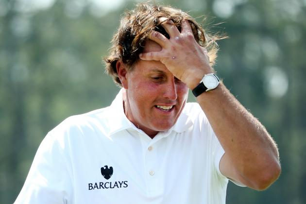 Masters Results 2014: Most Disheartening Performances at Augusta