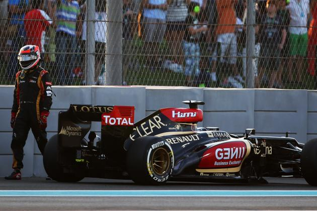 Kimi Raikkonen's No-Good, Very Bad Week Ends on Lap 1 of Abu Dhabi GP
