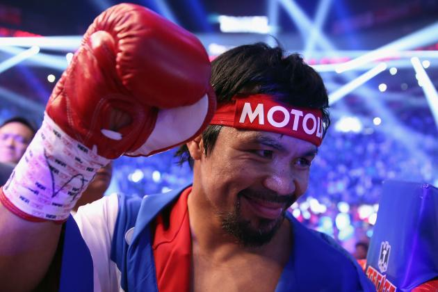 Pacquiao vs. Bradley Decision: Pac-Man's Win Will Lead to Floyd Mayweather Fight