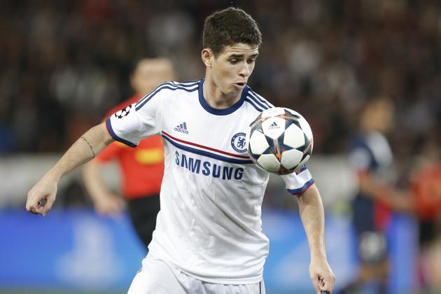 How Much is Chelsea Midfielder Oscar Worth Based on Form in 2014?