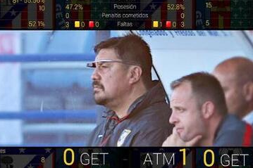 Atleti Asst. Pioneering Google Glass in Football