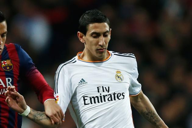 Di Maria Enjoying Best-Ever Haul at Madrid