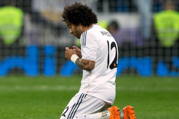 Marcelo Ruled out of Cup Final