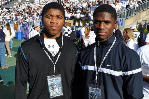 Northwestern Lands 4-Star Twin Brothers Andrew and David Dowell