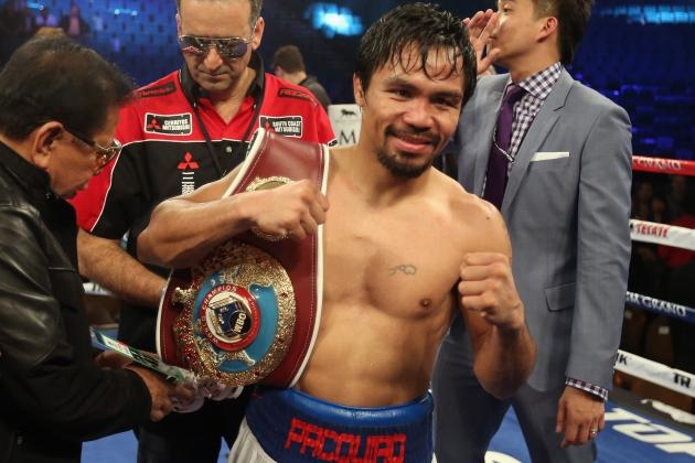Manny Pacquiao's Most Intriguing Potential Opponents for Next Title Fight