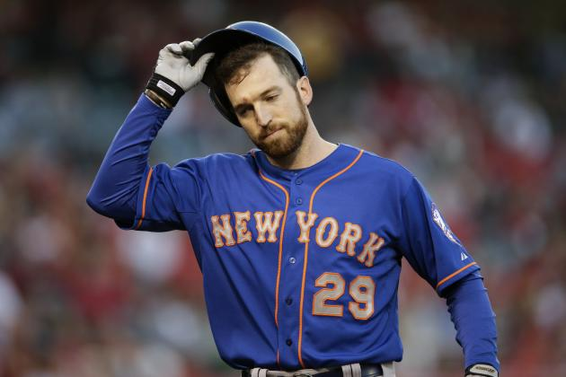 Ike Davis Adjusting to Role as Bat off the Bench for Mets