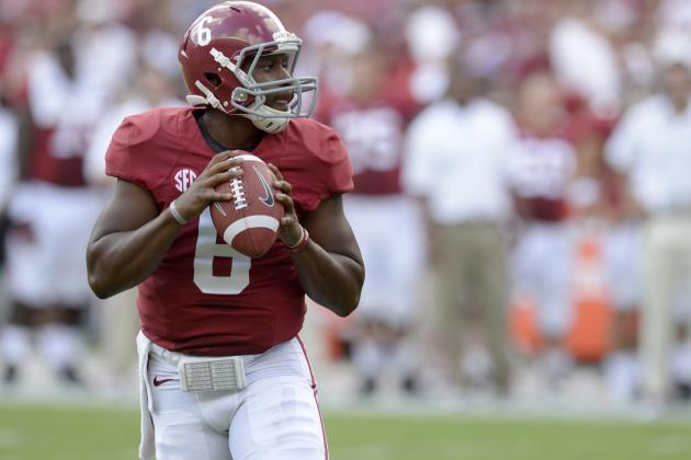 Should Alabama QB Blake Sims Be the Front-Runner at QB When Jacob Coker Arrives?