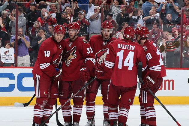 Coyotes End Season with Win over the Stars