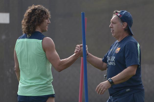 Puyol: Barca Players Behind Martino