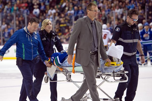 Report: No Hearing Scheduled for Byron After Sedin Hit