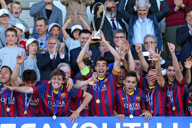 Benfica vs. Barcelona: UEFA Youth League Final Score and Report